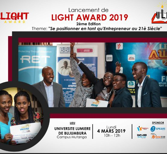 LANCEMENT SOLENNEL DE LIGHT AWARD